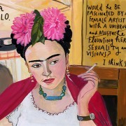 in love with a lincoln - maria kalman