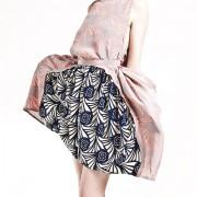 rachel comey bold print popcorn dress