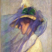 edmund tarbell: the blue veil