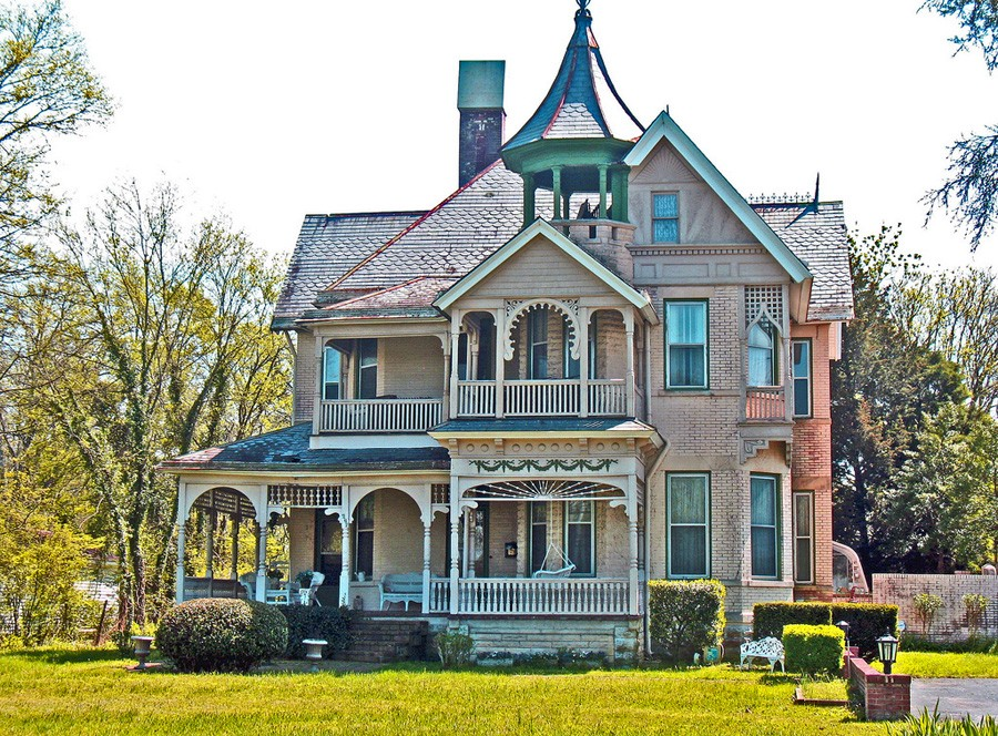 Victorian style homes miss moss for New victorian style homes