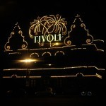 entrance to tivoli at night (well, it was probably 4pm)