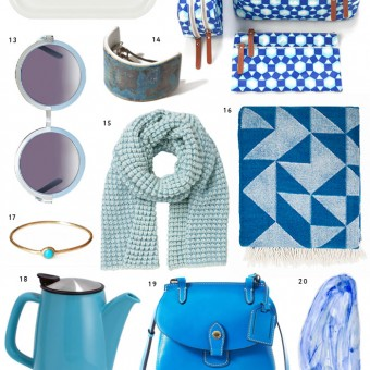 Miss Moss Holiday Gift Guide: Something Blue