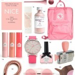 Gift Guide: Pink Things