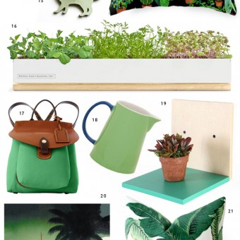 Miss Moss Holiday Gift Guide in Green