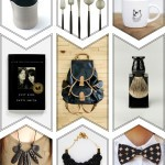 Gift Guide: Black, White & Gold