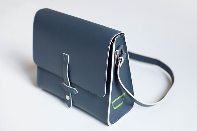 Enter to win this leather messenger bag by Joy Gryson!