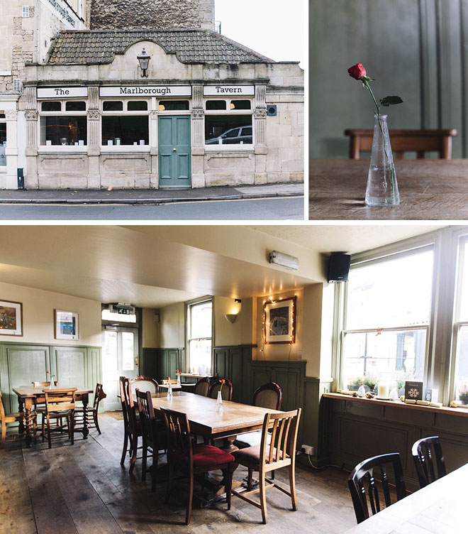 The Marlborough Tavern in Bath by Guided