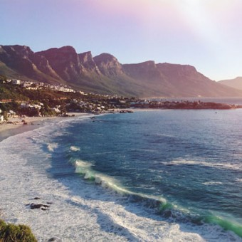 view of Clifton beaches, Cape Town by Miss Moss