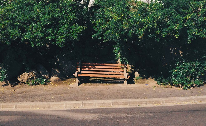 Bantry Bay bench by Miss Moss