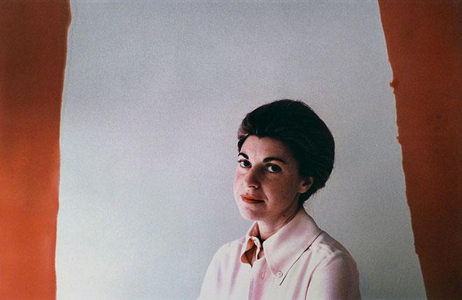Helen Frankenthaler photographed by Dan Budnick
