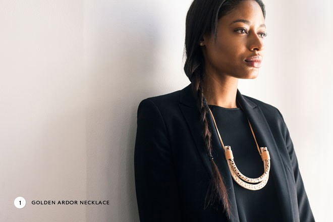 Miss Moss x Of a Kind Giveaway - win the Golden Ardor Necklace! Click through to enter.