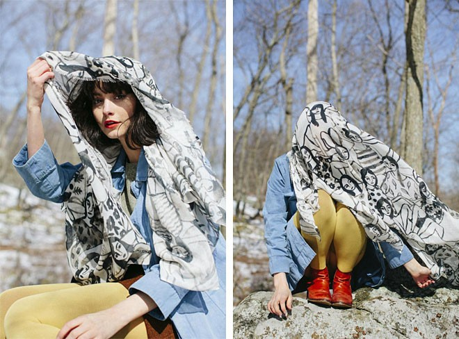Leah Goren Scarf Collection