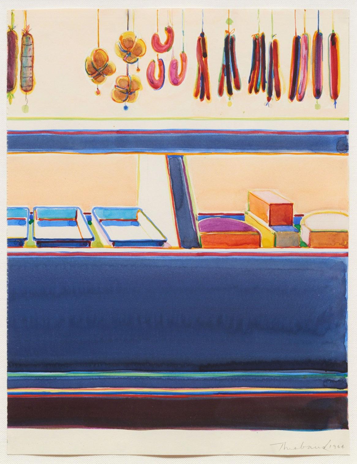 Wayne Thiebaud, Delicatessan Study