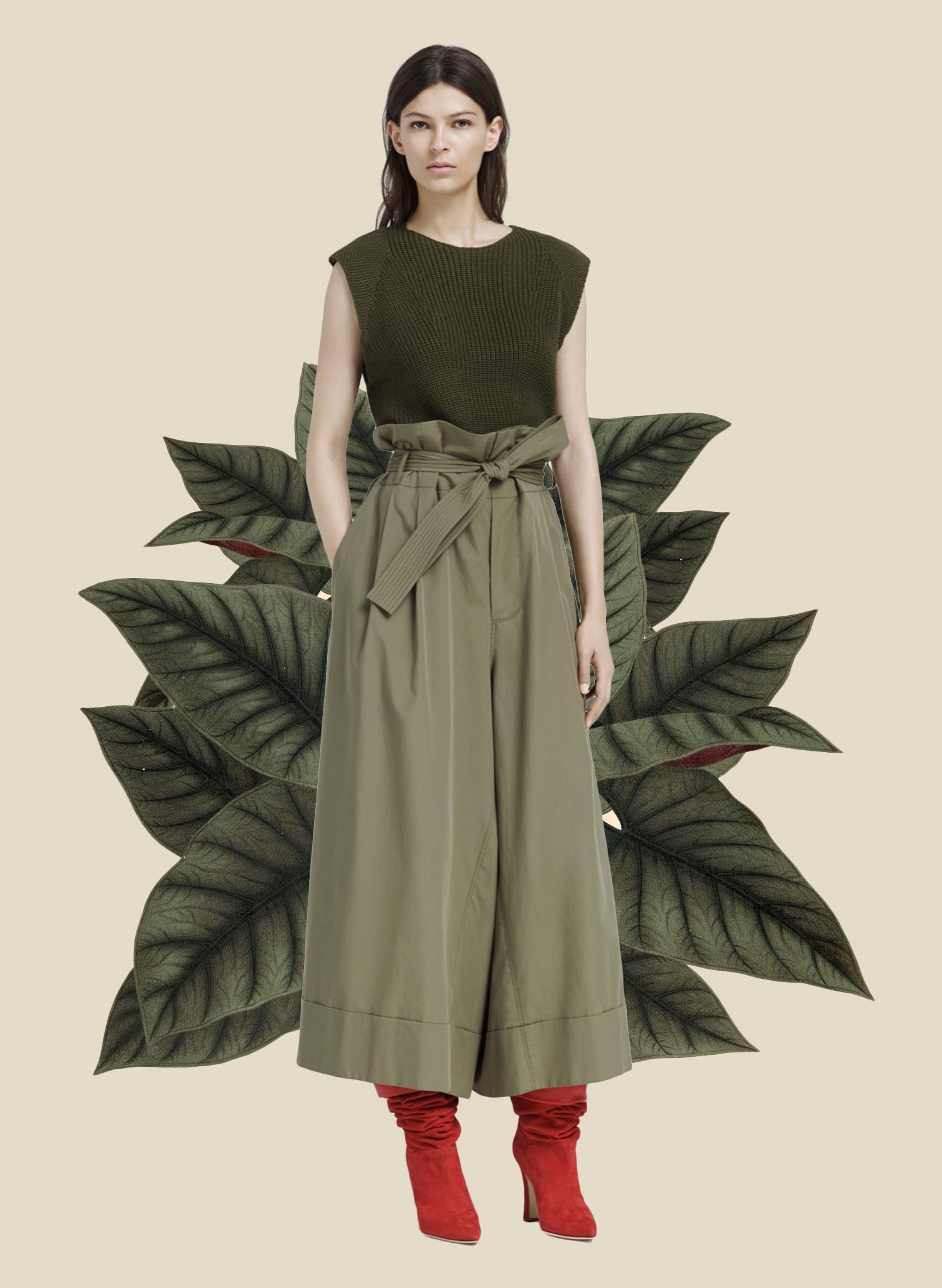 Miss Moss: Botanical Resort. Colour Mash Ups of Resort 2016 x Vintage Botanical Illustrations