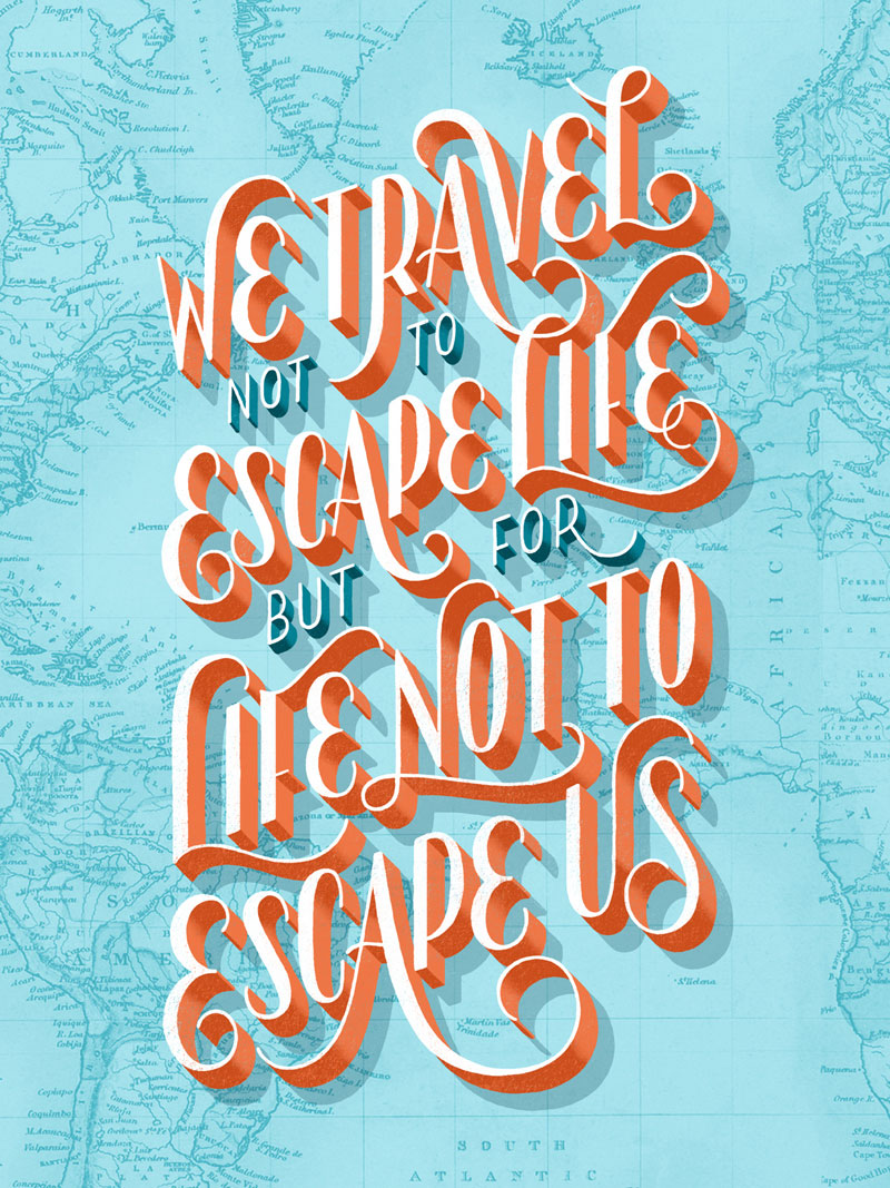 Lauren Hom Travel Posters. help this designer fund a round-the-world trip by buying a sweet poster!