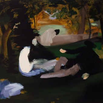 Déjeuner II, (after Manet), 2015