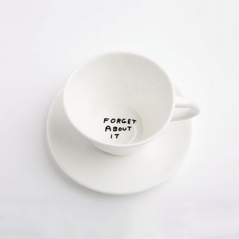 David Shrigley tea cups