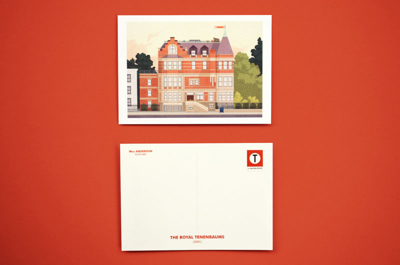 Wes Anderson Postcards by Mark Dingo Francisco