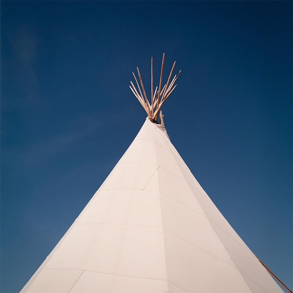 ALLISON V. SMITH, Teepee. Marfa, Texas, 2010