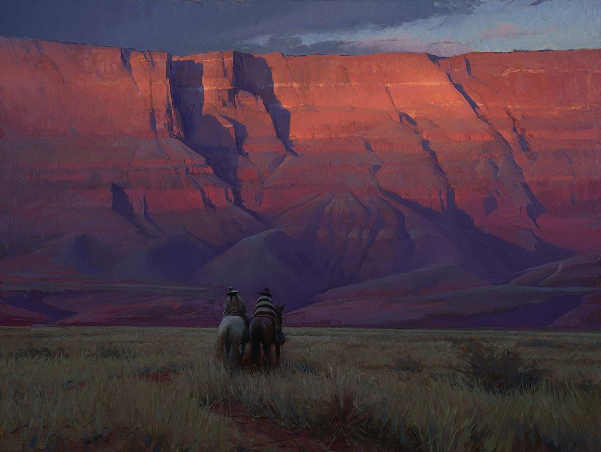 JEREMY LIPKING, Riders Under Vermilion Cliffs