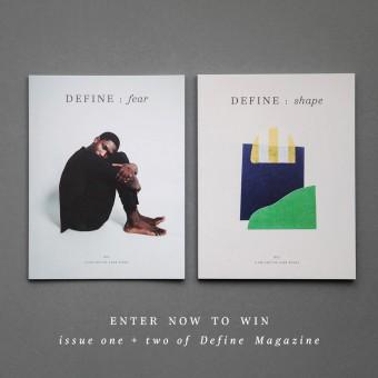 Define Magazine giveaway
