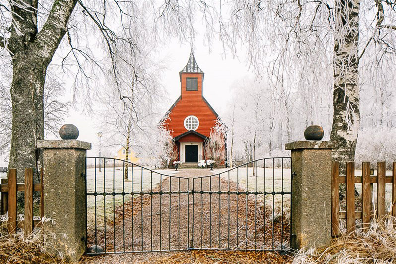 Yes, I could live in a Swedish Chapel