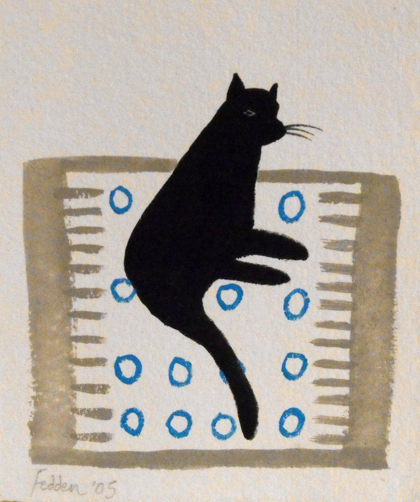 Cat on a Rug, 2005