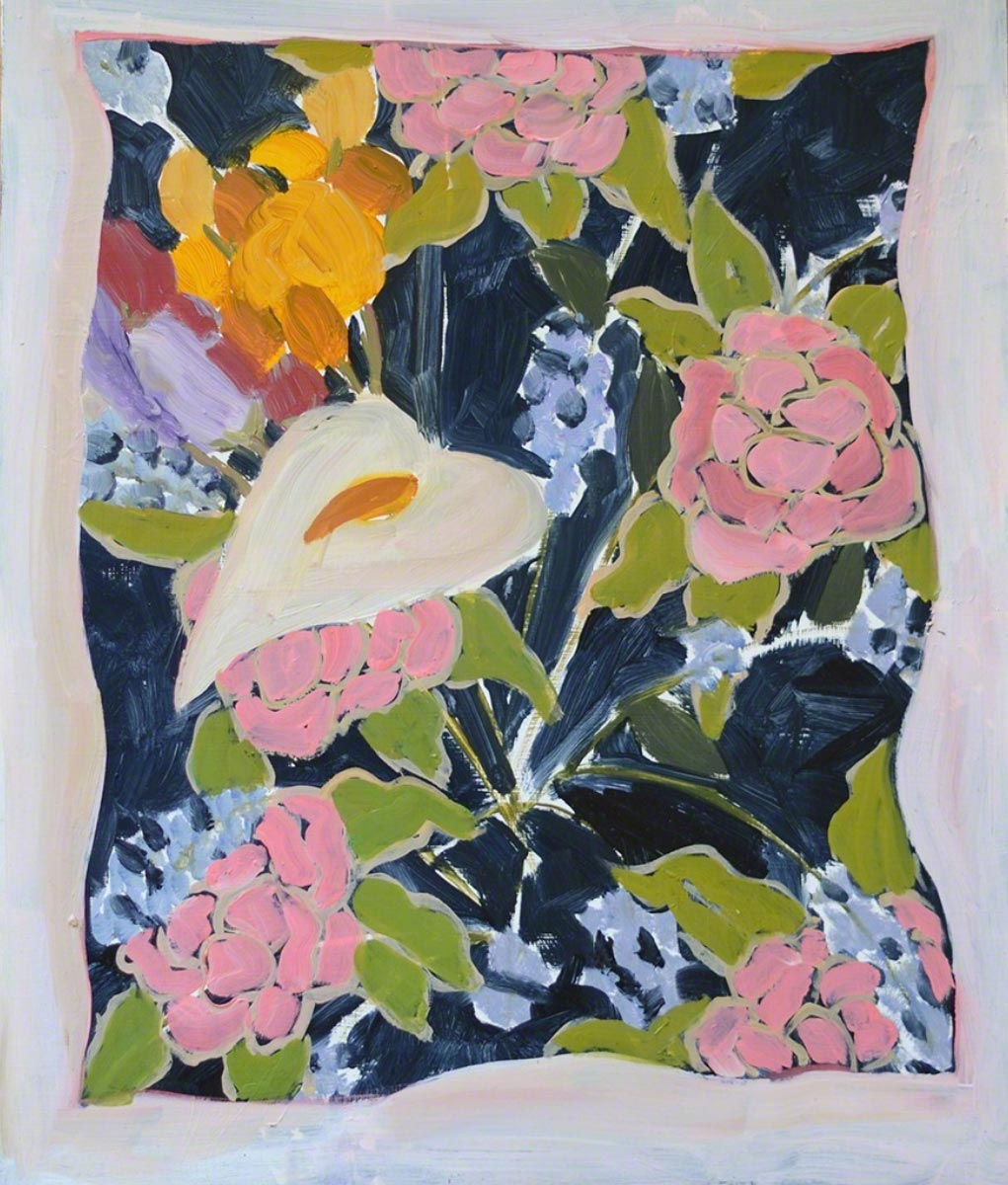 Floral Hanky, 2015
