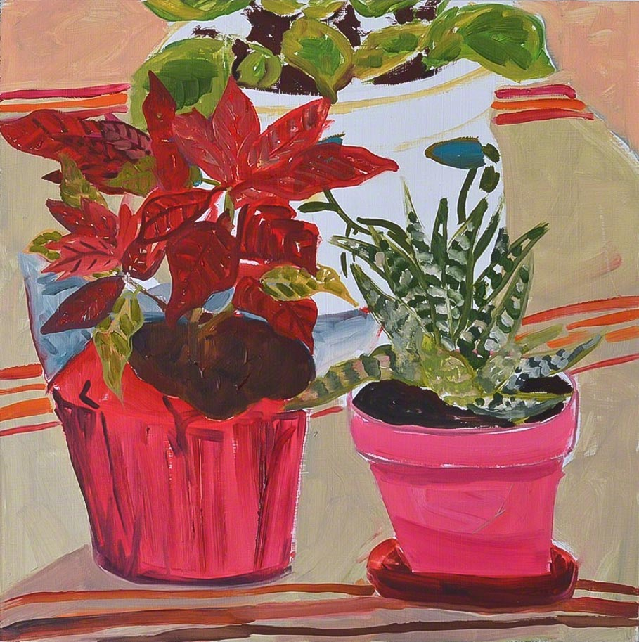 Three Houseplants, 2015