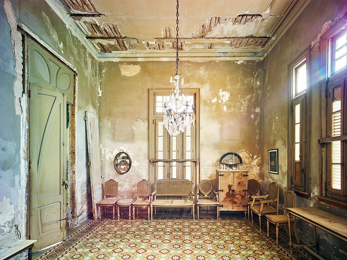 Ochre Room, Havana, Cuba, 2014