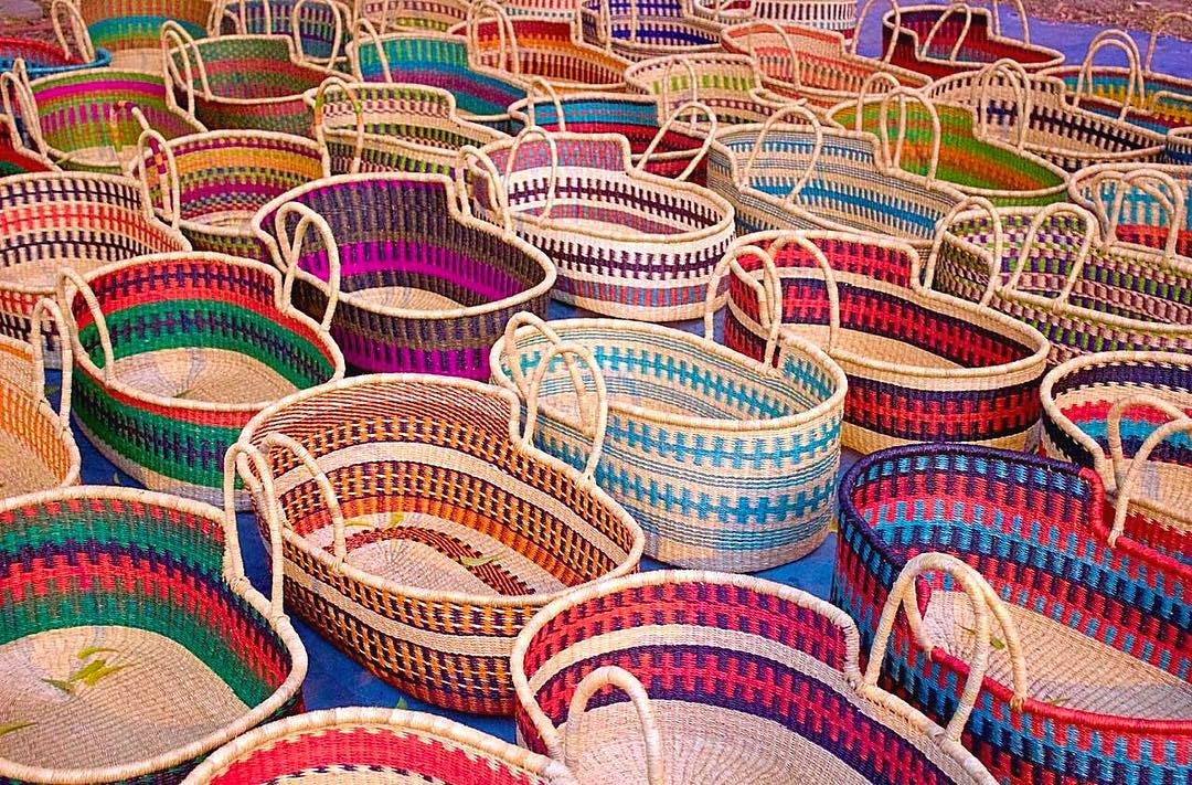 The cutest woven baby baskets by Design Dua