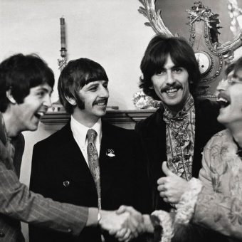 The Beatles photographed by Linda McCartney