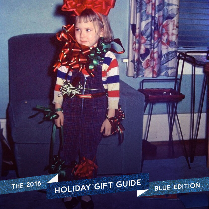 2016 Holiday Gift Guide: Blue