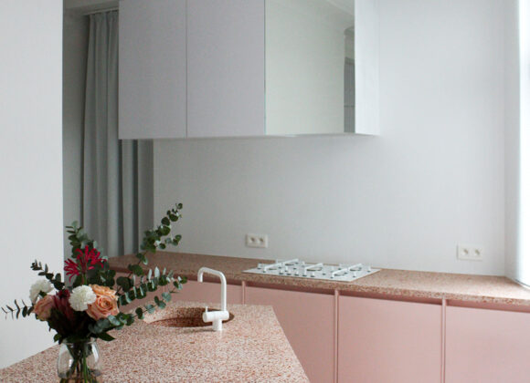 A Pink Kitchen