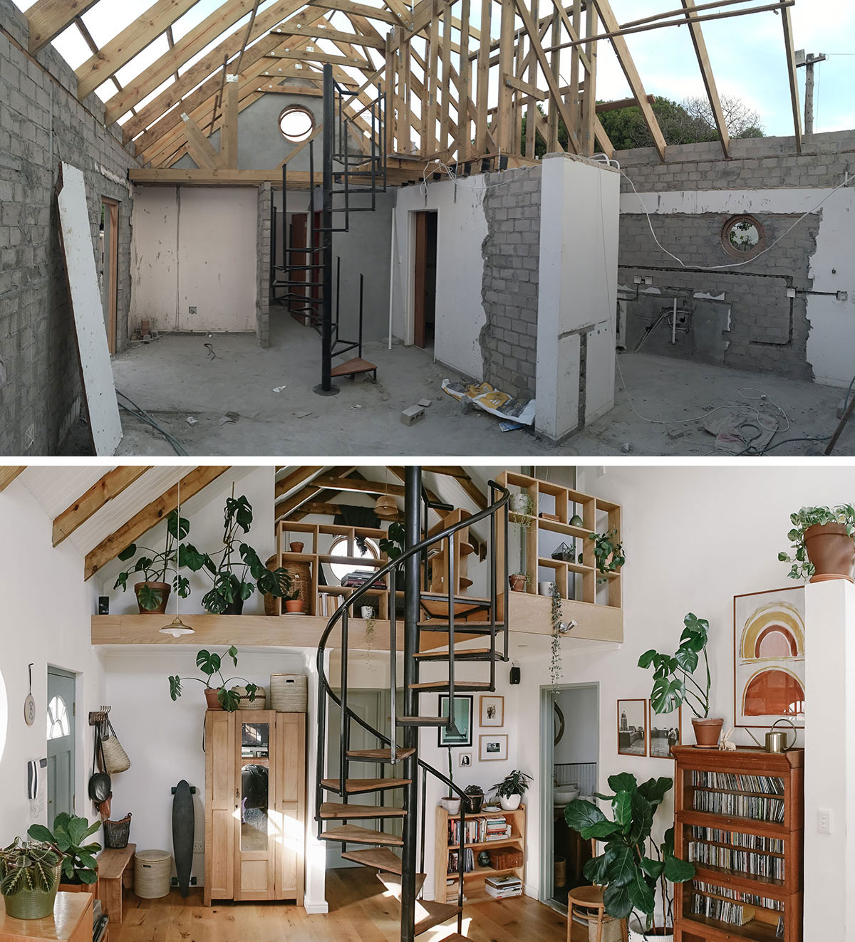 Sunbird Cottage: an inspiring before and after home renovation in Cape Town